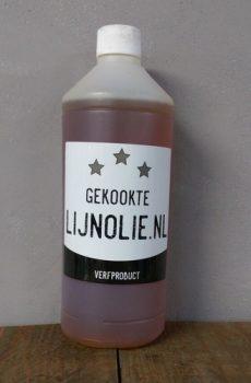Gekookte lijnolie 1 liter