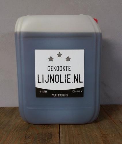Gekookte lijnolie 10 liter