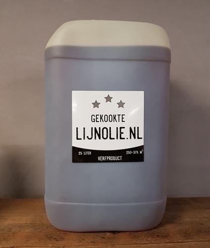 Gekookte lijnolie 25 liter