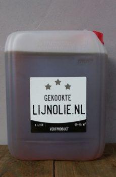 Gekookte lijnolie 5 liter